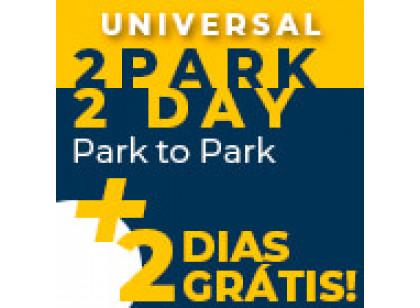 UNIVERSAL Promocional - 2 Parques, 4 Dias Park to Park